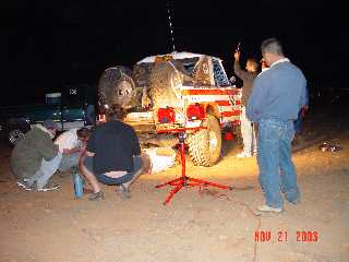 BFG Pit#3  Broken Axle