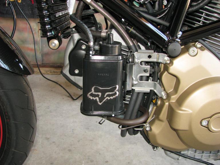Ducati Monster  Evaporative